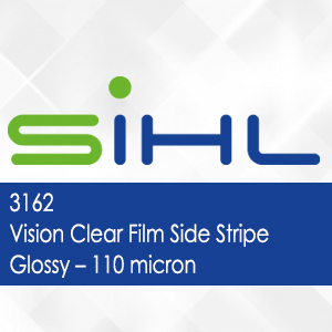 3162 - Vision Clear Film Side Stripe Glossy - 110 micron
