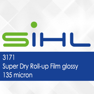 3171 - Super Dry Roll-up Film glossy - 135 micron