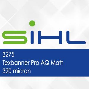 3275 - Texbanner Pro AQ Matt - 320 micron