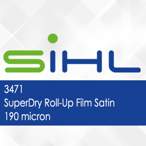 3471 - SuperDry Roll-Up Film Satin - 190 micron