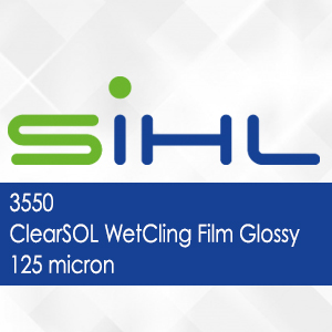 3550 - ClearSOL WetCling Film Glossy - 125 micron