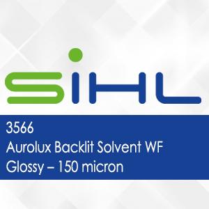 3566 - Aurolux Backlit Solvent WF Glossy - 150 micron