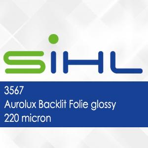 3567 - Aurolux Backlit Folie glossy - 220 micron
