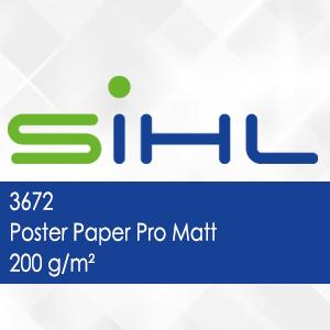 3672 - Poster Paper Pro Matt - 200 g/m2