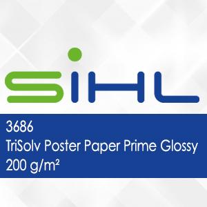 3686 - TriSolv Poster Paper Prime Glossy - 200 g/m2