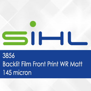3856 - Backlit Film Front Print WR Matt - 145 micron