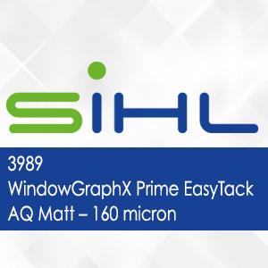 3989 - WindowGraphX Prime EasyTack AQ Matt - 160 micron