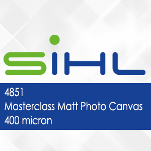 4851 - Masterclass Matt Photo Canvas - 400 micron