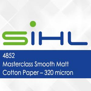 4852 - Masterclass Smooth Matt Cotton Paper - 320 micron