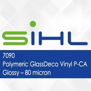 7090 - Polymeric GlassDeco Vinyl P-CA Glossy - 80 micron