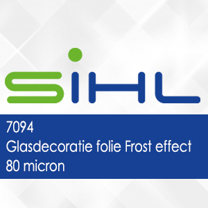 7094 - Glasdecoratie folie Frost effect - 80 micron
