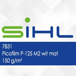 7831 - Picofilm P-125 M2 wit mat - 150 g/m2
