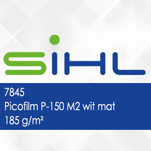 7845 - Picofilm P-150 M2 wit mat - 185 g/m2