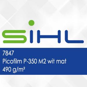 7847 - Picofilm P-350 M2 wit mat - 490 g/m2