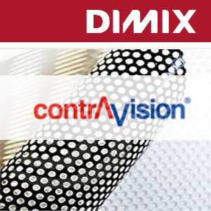 P661x - ContraVision Performance White on Black - polymere one-way vision folie