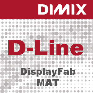 P1493 - D-Line DisplayFab Mat - 230g/m2 - Non Woven PET met grijze rugzijde