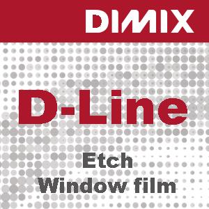 P5600 - D-Line Glass Etch raamfolie
