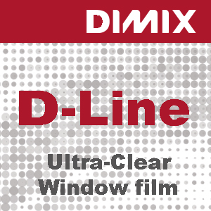 P6999 - D-Line Ultra Clear window film - Glanzend - Glasheldere PVC-film