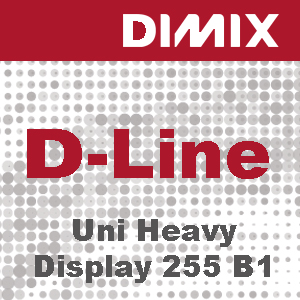 P2591 - Uni Heavy Display 255 FR B1 - 255 grams polyester breisel met PU coating