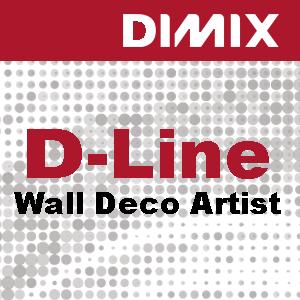 P3728 - D-Line Wall Deco Artist PVC-behang met linnenstructuur