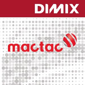 P8186 Mactac JT10500 Polymeer Wit Glanzend - 55 micron dikte - Bubble free