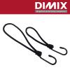 STRSSTRAP-0180/B - Strap with hook - zwart - 18cm