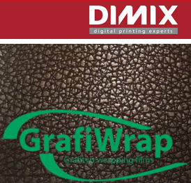 GrafiWrap wrapping folie - Leatherlook serie