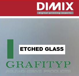 Grafityp TR100 Monomeric Grey Etch Effect Film - 500 mm, rol 50 m