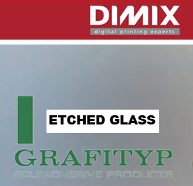 Grafityp TR100 Monomeric Grey Etch Effect Film - 500 mm, per meter
