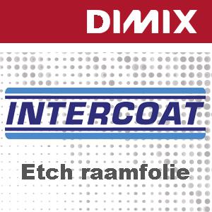 P6570 - Intercoat 1693 P3 - Etch raamfolie - zilverkleurig - Permanente lijm met luchtkanalen