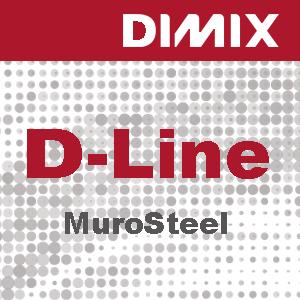 S1901 - D-Line Adhesive Steel Film, wit satijnglans