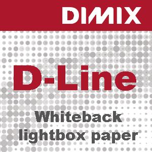 P3140 - D-Line Whiteback lightbox paper - 200 g/m2 - wit satijnglans