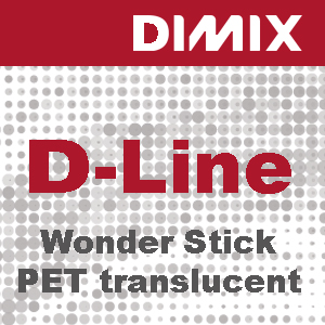 P3497 - D-Line Wonder Stick PET Translucent