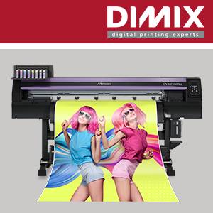 Mimaki CJV300 Plus print & cut systeem