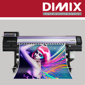 Mimaki JV300 Plus Serie mild/eco solvent printer