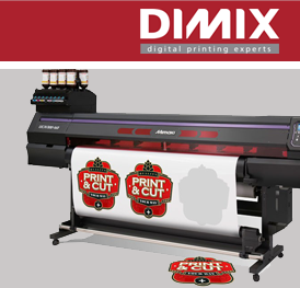 Mimaki UCJV300 print & cut systeem