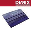 STRSG-13 x 8cm - blauwe kunststofrakel met vilt - XL